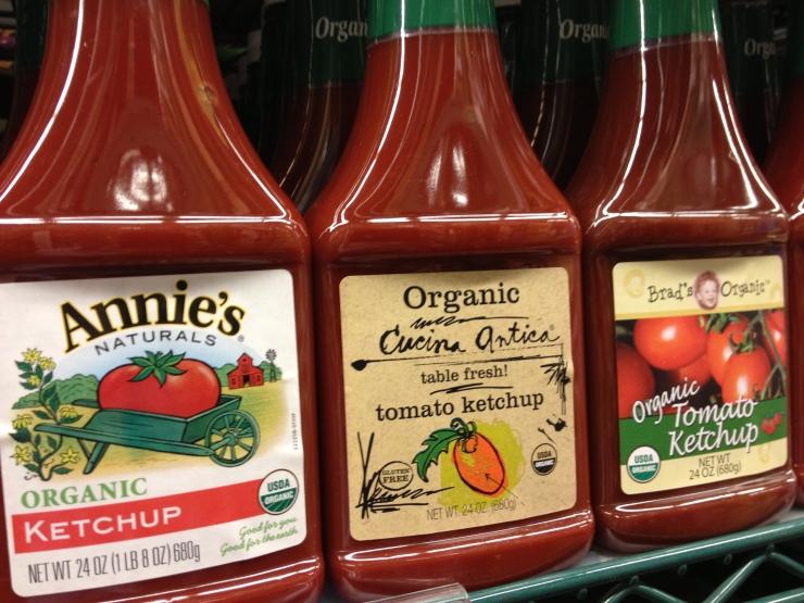 Organic Ketchups